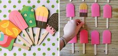 Memori polos Craft Activities For Kids, Diy And Crafts, Crafts For Kids, Summer Parties, Summer Fun, Pop Sicle, Quality Time, Diy For Kids, Kids Playing