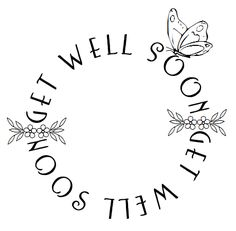 FREE digital stamp: Get well sentiments / desert diva