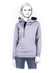 Lekala Sewing Patterns - WOMEN Sweatshirts Sewing Patterns Made to Measure and Royalty Free
