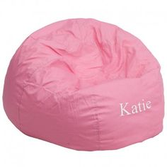 Accomplish a classic and cheerful appearance to your living space with the assistance of this Flash Furniture Small Solid Light Pink Kids Bean Bag Chair. Oversized Bean Bag Chairs, Small Bean Bag Chairs, Small Bean Bags, Kids Bean Bags, Pink Bean Bag, Classic Bean Bags, Design Living Room, Soft Seating, Kids Seating