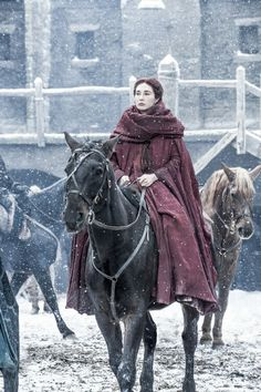 GOT, season 6, Lady Melissandre.