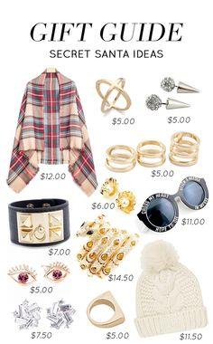 Gift Guide Secret Santa Ideas