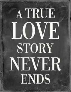 A True Love Story Never Ends Poster by Frillychilidesign
