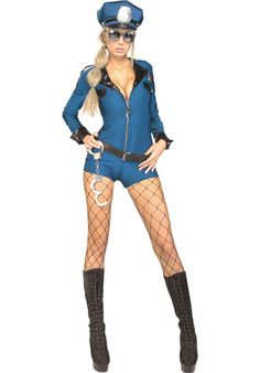 Police Academy Lady Costume, Secret Wishes? Sexy Police Fancy Dress | Occupations Costumes | Escapade® UK