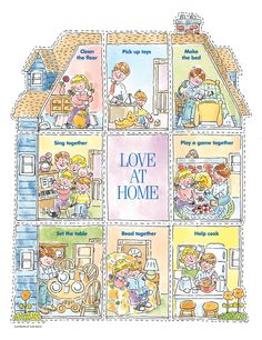 FHE- (Cut Out) Love at Home