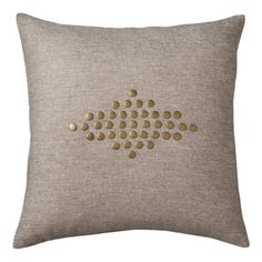 Totally want to recreate this Nate Berkus pillow-living room or bedroom