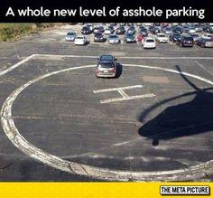 Awful Parking Taken To The Next Level