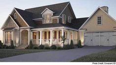 Stone Creek - Mitchell Ginn | Southern Living House Plans