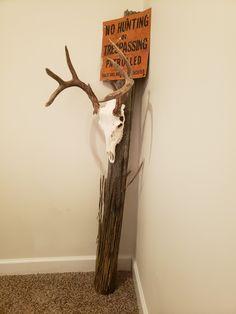Deer Horns Decor, Deer Antler Lamps, Deer Hunting Decor, Deer Antler Crafts, Antler Art, Deer Decor, Skull Decor, European Mounts Deer, Euro Mounts
