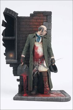Jack The Ripper 1888 is listed (or ranked) 1 on the list Serial Killers: From Jack the Ripper to Charles Manson 3d Figures, Custom Action Figures, Magic Johnson, Jack Ripper, Horror Action Figures, Evil Villains, Todd Mcfarlane, Charles Manson, Famous Monsters