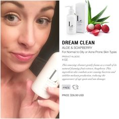 LimeLight by Alcone. Natural Skincare. Dream Clean.