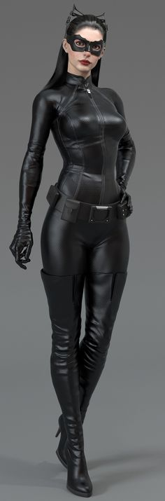 Anne Hathaway as Catwoman - The Dark Knight Rises #Dc I love this # bronwyn