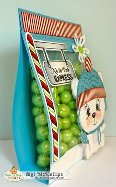 Peachy Keen and Miss Kate Cuttables Co-Hop- North Pole Express