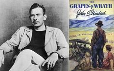 At the age of John Steinbeck published his novel The Grapes of Wrath on Apr. It won the 1940 Pulitzer Prize for Literature and has sold more than 14 million copies. He later won the Nobel Prize for Literature. Book Club Books, Good Books, My Books, English Novels, Grapes Of Wrath, Human Kindness, Today In History, American Literature, Personalized Books