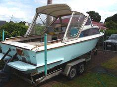 Hartley boat plans 'Flareline 20' power boat Speed Boats, Power Boats, Dinghy, Boat Plans, Fishing Boats, How To Plan, Jon Boat, Boat, Motor Boats