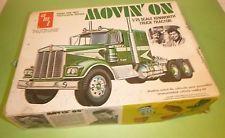 JUNKYARD AMT MOVIN' ON KENWORTH W-925 1/25 Model Car Mountain Movin On, Movie Cars, Retro Toys, Model Car, Big Trucks, Box Art, Rigs, Trailers, Childhood Memories