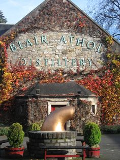 Blair Athol Distillery, Pitlochry, Scotland. Sweet distillery, worth the stop.