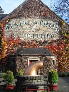 Blair Athol Distillery, Pitlochry, Scotland. Sweet distillery, worth the stop.