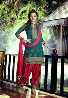 1 Stylish Indian Shalwar Kameez Embroidered Salwar Suit Patiala Cotton 227230350 #Unbranded #IndianPatialasalwarSuit