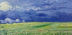 Champs sous un ciel nuageux, Auvers-sur-Oise, Van Gogh Museum, Amsterdam. Vincent Van Gogh, Van Gogh Museum, Art Van, Claude Monet, Wassily Kandinsky, Van Gogh Arte, Van Gogh Pinturas, Painting Prints, Art Prints