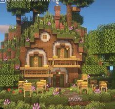 Minecraft Farm, Minecraft Mansion, Minecraft Cottage, Cute Minecraft Houses, Minecraft House Tutorials, Minecraft Plans, Minecraft House Designs, Amazing Minecraft, Minecraft Construction