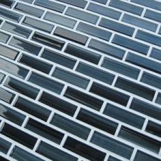 Modern Beautiful Black Subway Tile Backsplash