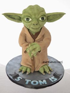 Yoda, Take Two - Cake by Imaginarium Cakes