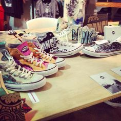cool designs on converse shoes