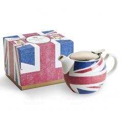 All Hail Tea Time! #tea #unionjack #london #bestgiftever