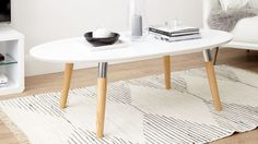 The Luka Coffee Table from Danetti has a Scandinavian, mid century feel to its design but with a contemporary twist, making it perfect for adding a modern mixed material piece to your living area.