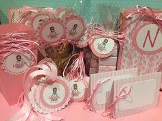 lospapelesdeines: Comunión Niña en rosa