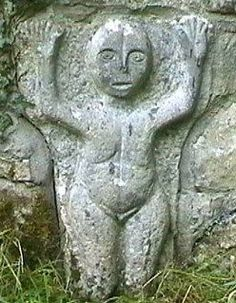 Image result for whats the name of the irish goddess associated with female genitalia?