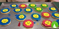 Lego cookies :) sunny smiles for a rainy day.  www.nikoncakes.com https://www.facebook.com/pages/Nikon-Cakes/129028306351