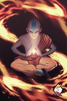 Aang - Avatar by ElementalDraws.deviantart.com on @DeviantArt