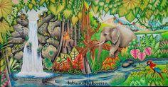 Amazing!!!! @Regrann from @tatianafackovcova - #magicaljungle #magicaljunglecoloringbook #johannabasford #artecomoterapia #johannabasfordmagicaljungle #cololoring #coloringforadult #coloringbook #coloringbookforadult #adultcoloring #adultcoloringbook #prismacolor #prismacolorpremier #jungle #elephant #antistress #antistresscoloringbook #arttherapy #arttime #aligator #ara #waterfall #selvamagica #Regrann