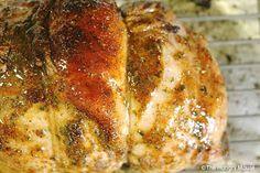 Spicy Roast Turkey Breast with Honey Butter Glaze