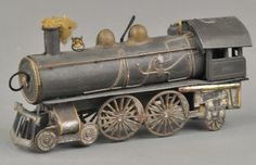 VROEGE AMERIKAANSE RAILROAD STEAM LOCO DRESDEN: Lot 1804