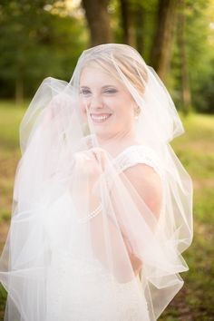 Talladega, AL Bridal Session - On The Road Photography - Veil Shots are always fun
