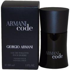 Armani Code by Giorgio Armani For Men. Eau De Toilette Spray 1-Ounce for $38.50