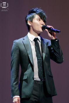 "131031 Kim Junsu at ""December"" Musical Showcase"