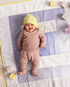 Seersucker Baby Quilt