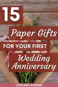 Giving each other a gift is an obvious way to recognize this special day. A day that will be a little quieter than this time last year, but a wonderful day nonetheless. Make your day extra special with these paper gift ideas that you can give to your partner. See it all here! #weddinganniversary #weddinganniversarygifts #firstweddinganniversarygifts #firstanniversarypapergiftsideas #firstyearofmarriagegifts #paperanniversarygifts