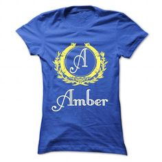 Amber - #statement tee #couple sweatshirt. WANT IT => https://www.sunfrog.com/Names/Amber-RoyalBlue-30110909-Ladies.html?68278