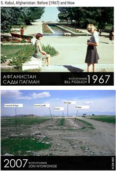 Afghanistan  Link: http://www.inspire52.com/world-cities-then-now/