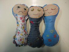 bonecos de pano 2º ciclo