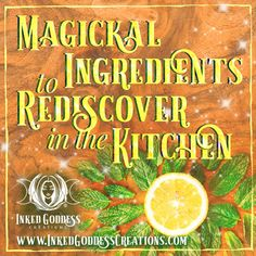 Salt, cinnamon, basil, rosemary: we love our magickal ingredients in the kitchen. But what about some lesser-known or under-used ingredients? // #kitchenwitch #magick #staranise #lemon #peppermint #paprika #coffee #cilantro #coriander #eggs
