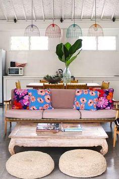 A Scandinavian Home With A Boho Vibe | style-files.com | Bloglovin'