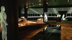 Get a look at Ancient Roman Londinium's amphitheatre @ Guildhall Art Gallery, London, UK