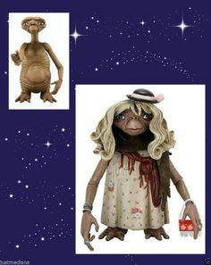 "E.T. Series 1 Dress-Up E.T. With Purse  E.T. 4.5"" Figure  NECA 2012  - 8+  #NECA  - May 31, 2014 - $25.99 - #FreeShipping"
