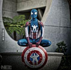 Captain Spiderman